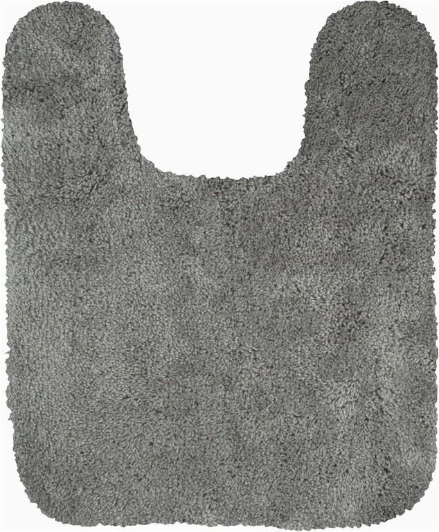 Grey Contour Bath Rug Mohawk Floor Coverings New Regency Bath Rug Grey Flannel 1 9