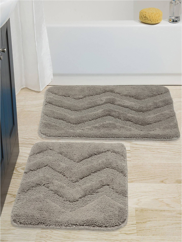 0d43d7c3 263d 466c bedf f085c3ac5fd Saral Home Grey Cotton Bath Rug Contour 1