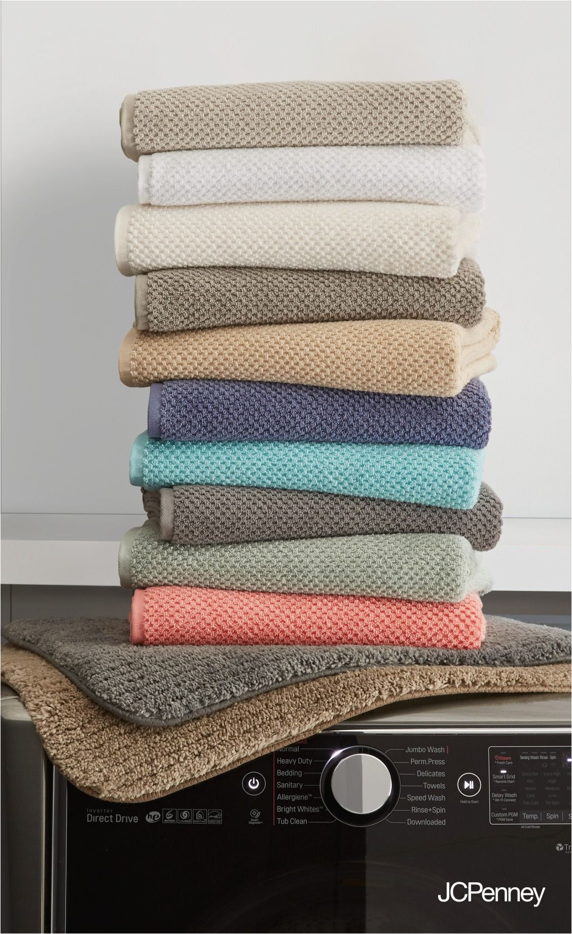 Jcpenney Bath towels and Rugs Oh so Plush and In that Just Right Shade Fresh New Bath