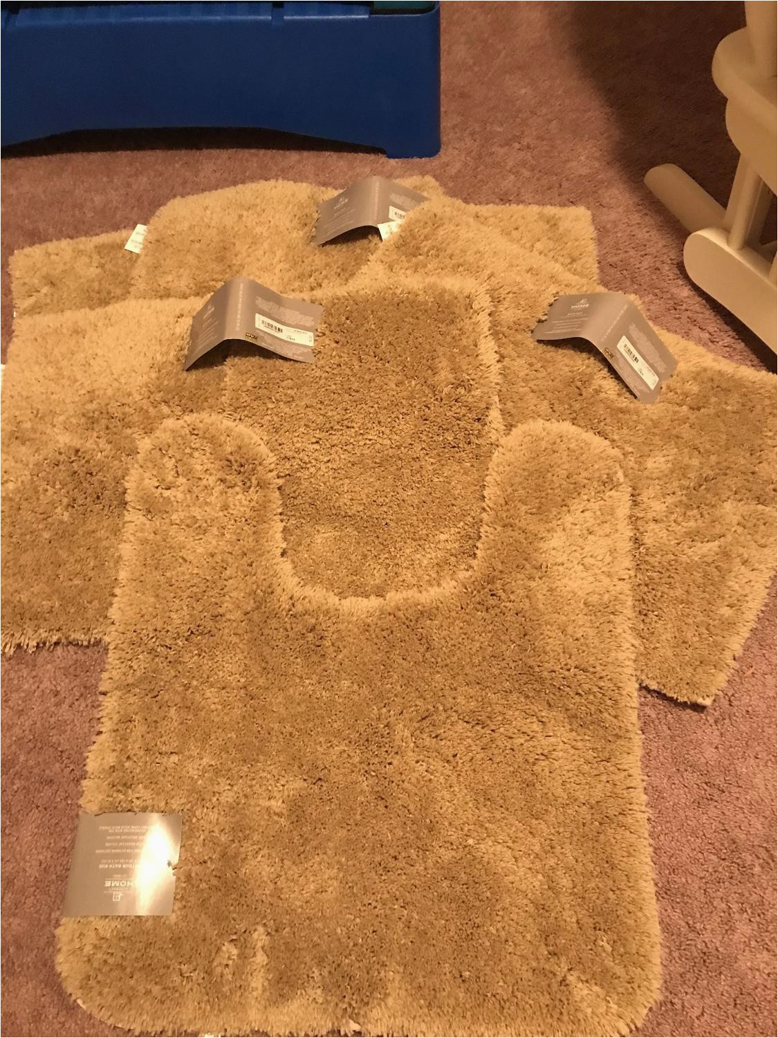 Jcpenney Contour Bath Rugs 5 Pc Tan Jcpenney Bath Rugs $8 Each