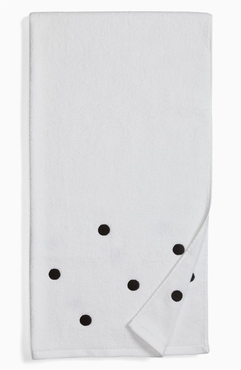 Kate Spade Deco Dot Bath Rug Kate Spade New York Deco Dot Bath towel