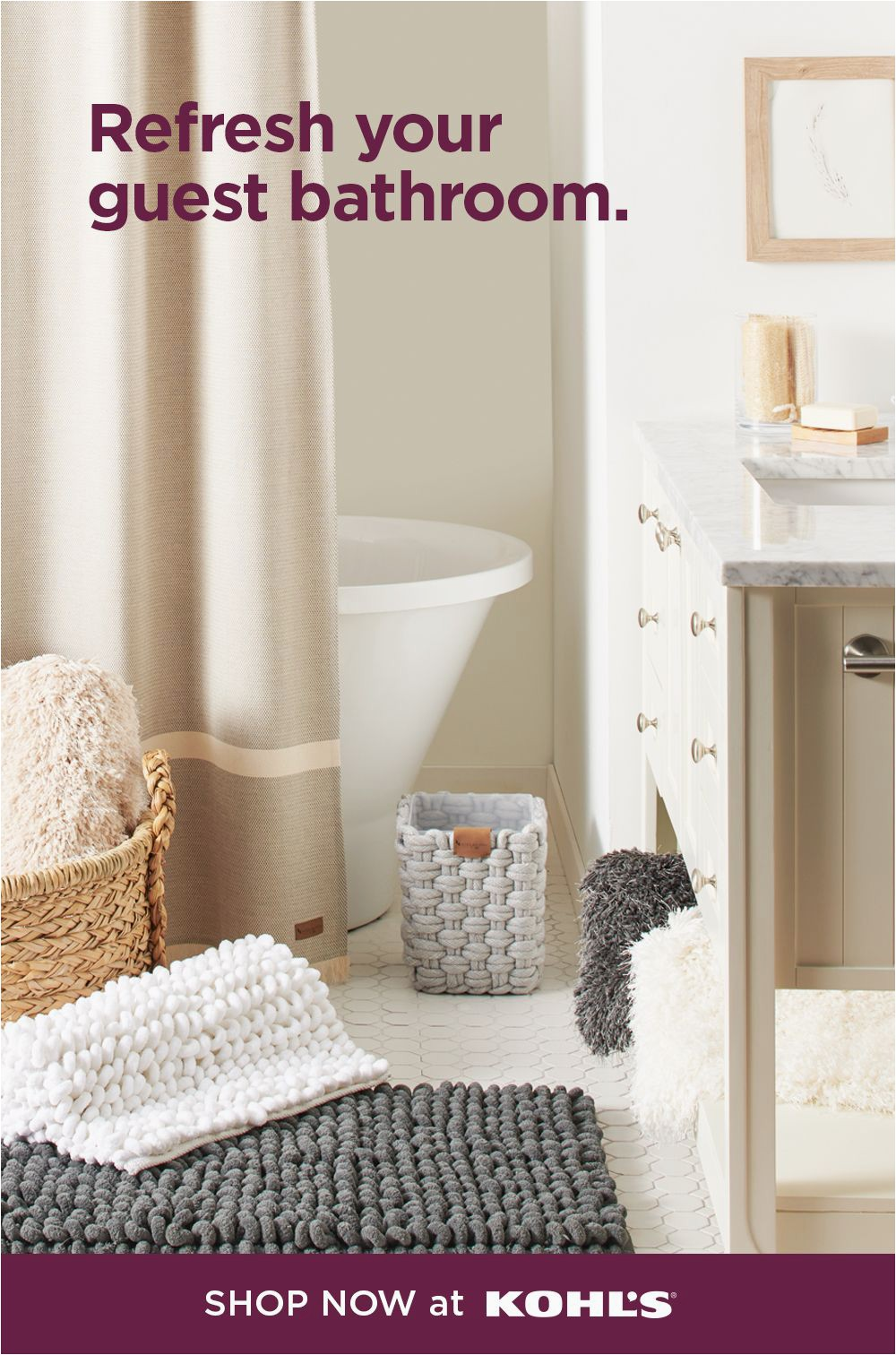 Kohl S Bath towels and Rugs Shop now at Kohls