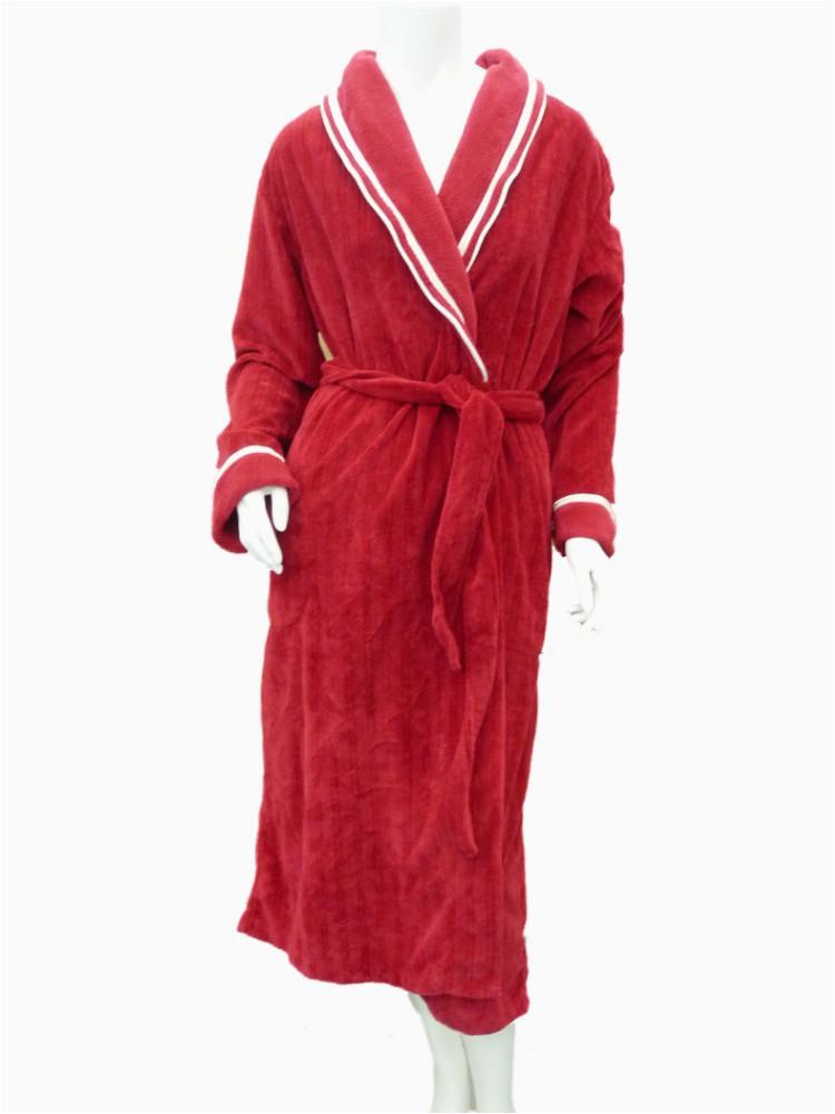 Liz Claiborne Signature Plush Bath Rug Liz Claiborne Liz Claiborne Womens soft Plush Red & White Robe Long Housecoat Size Small Walmart