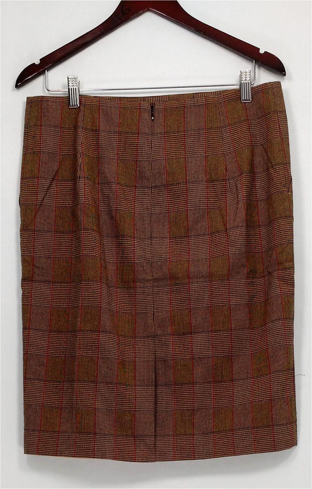 Liz Claiborne Signature Plush Bath Rug Liz Claiborne New York Skirt Sz 12 Heritage Collection Brown A