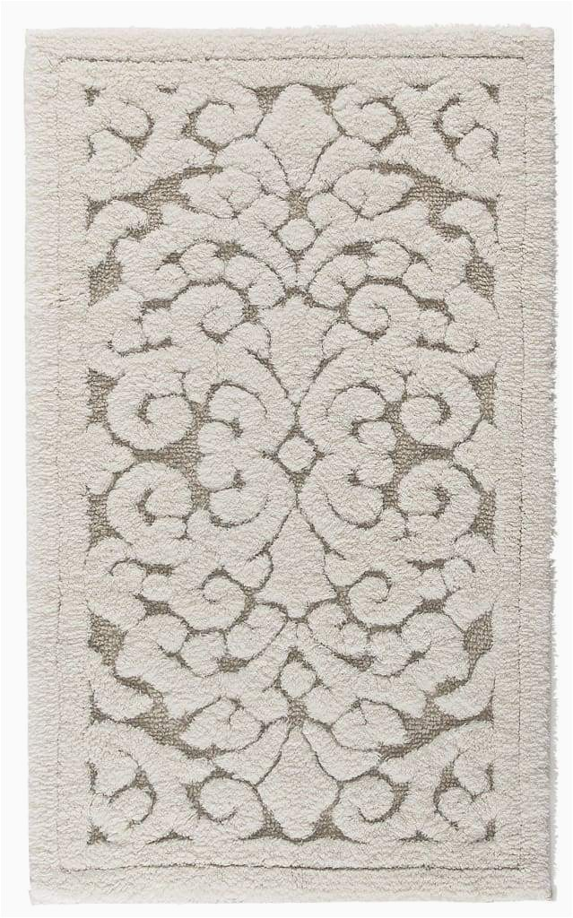 Luxury Bath Mats and Rugs Linen Vintage Bath Mat & Rug