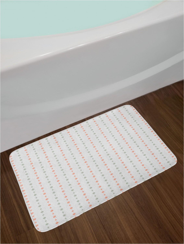 Madison Park Signature Marshmallow Bath Rug Abstract Bath Rug