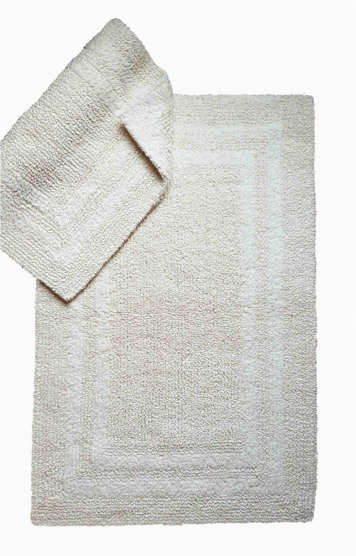 Mainstays Contour Bath Rug Mainstays 2 Piece Set Reversible Cotton Mats