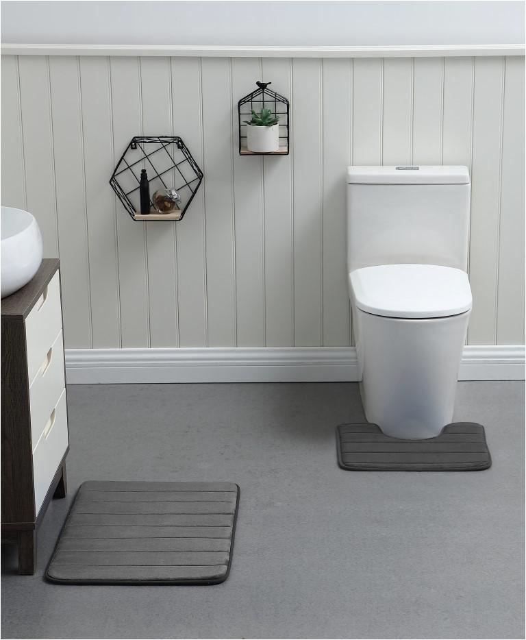 Mainstays Contour Bath Rug Mainstays Memory Foam 2 Piece Bath Rug Set