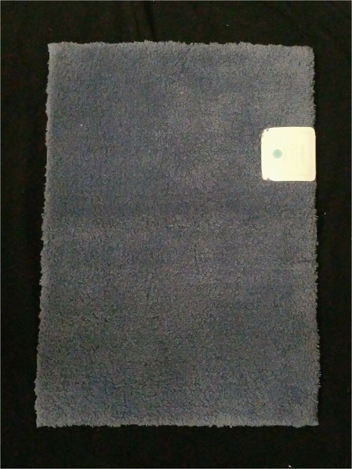 """Martha Stewart Memory Foam Bath Rug Martha Stewart Collection Caspian Blue Ultimate Plush Bath Rug 17"""" X 24"""" New"""