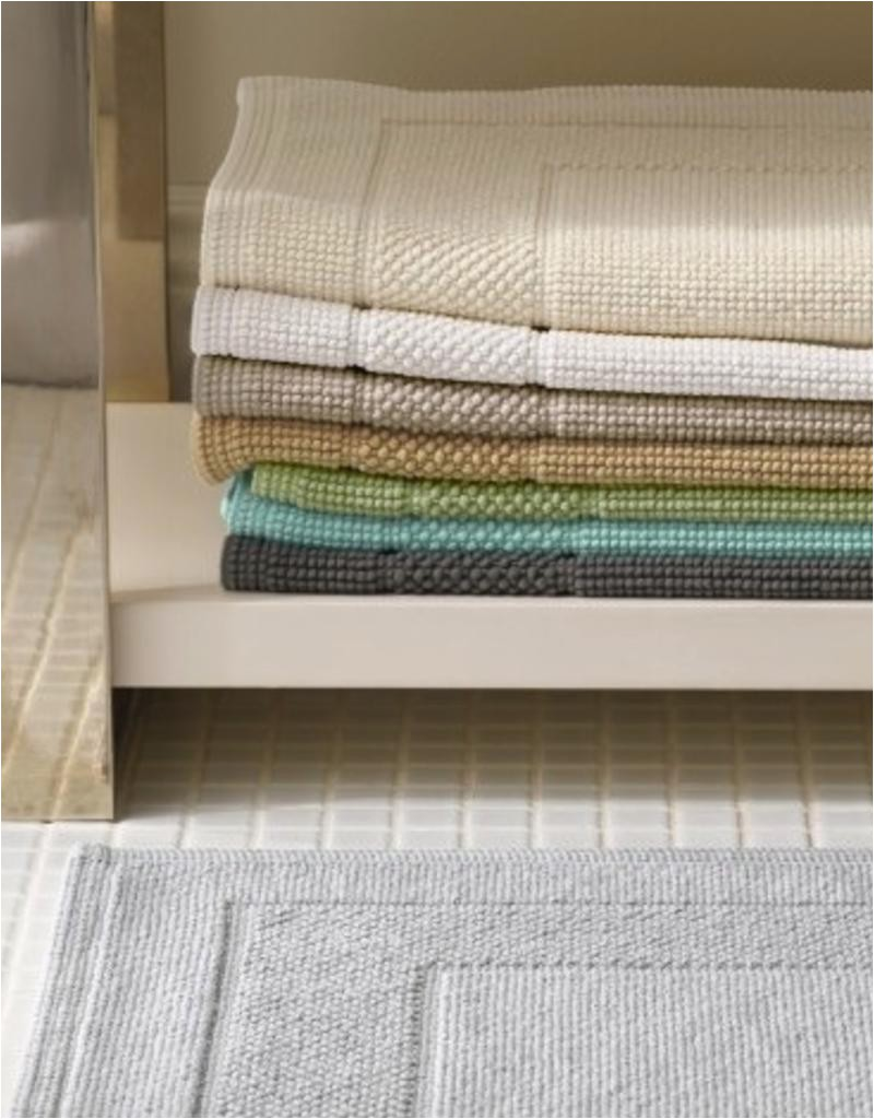 matouk cielos large bath rug white