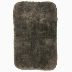 Micro Plush Memory Foam Bath Rug Fieldcrest Luxury Bath Rug Morel Brown