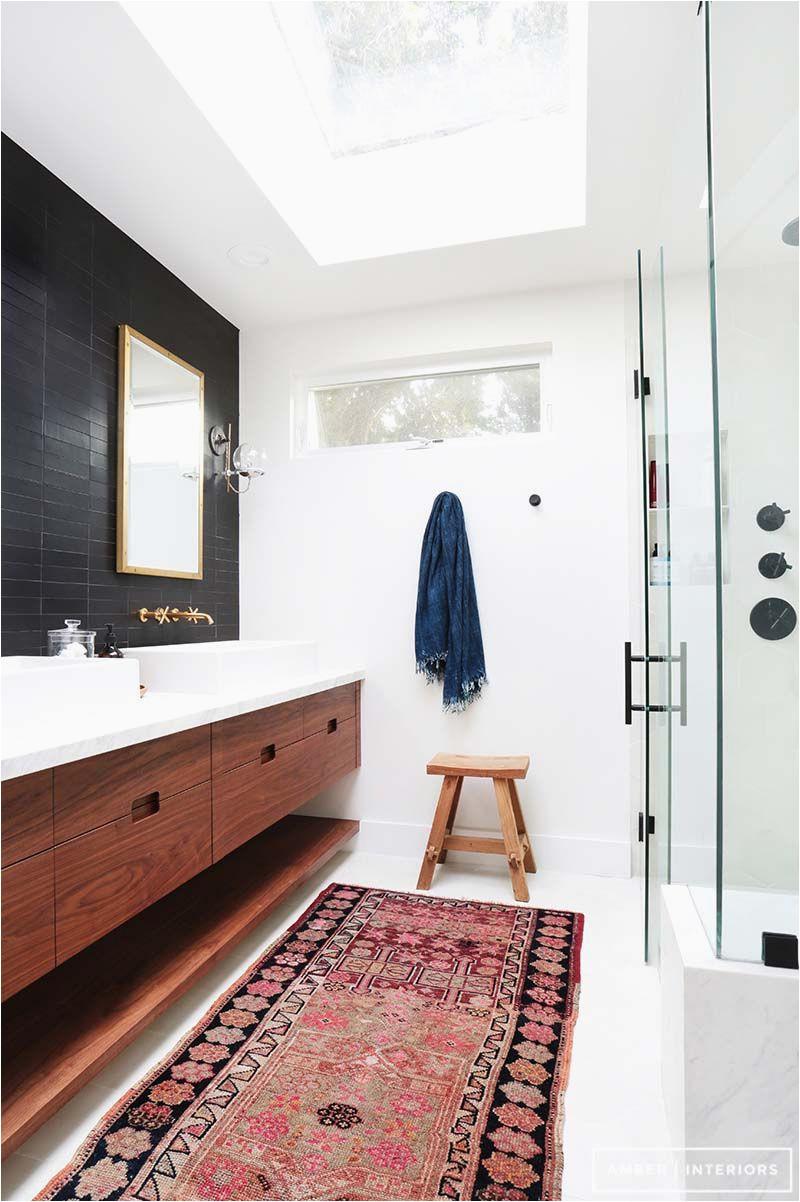 Mid Century Modern Bath Rug 37 Amazing Mid Century Modern Bathrooms to soak Your Senses