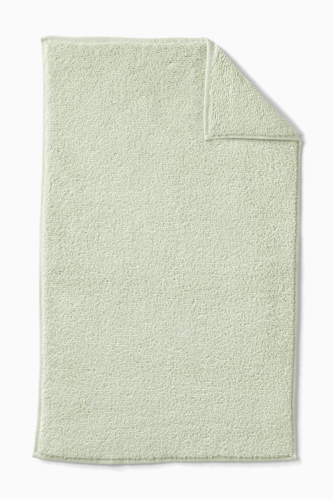 Organic Cotton Bath Rug organic Cotton Bath Mat Lands End Green
