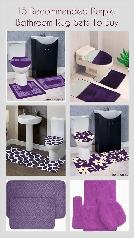 Purple Bathroom Rug Sets pinterest min