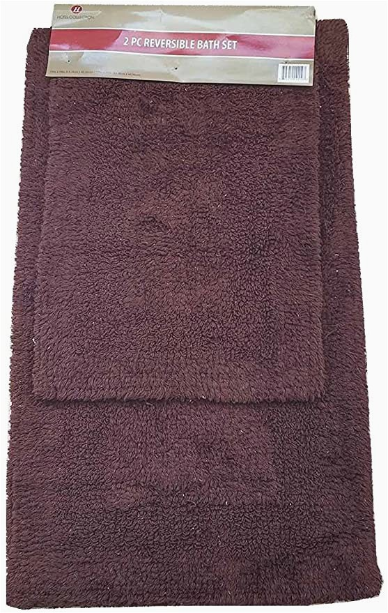 Reversible Bath Rug Sets Amazon Hotel Collection 2pc Reversible Bath Rug Set