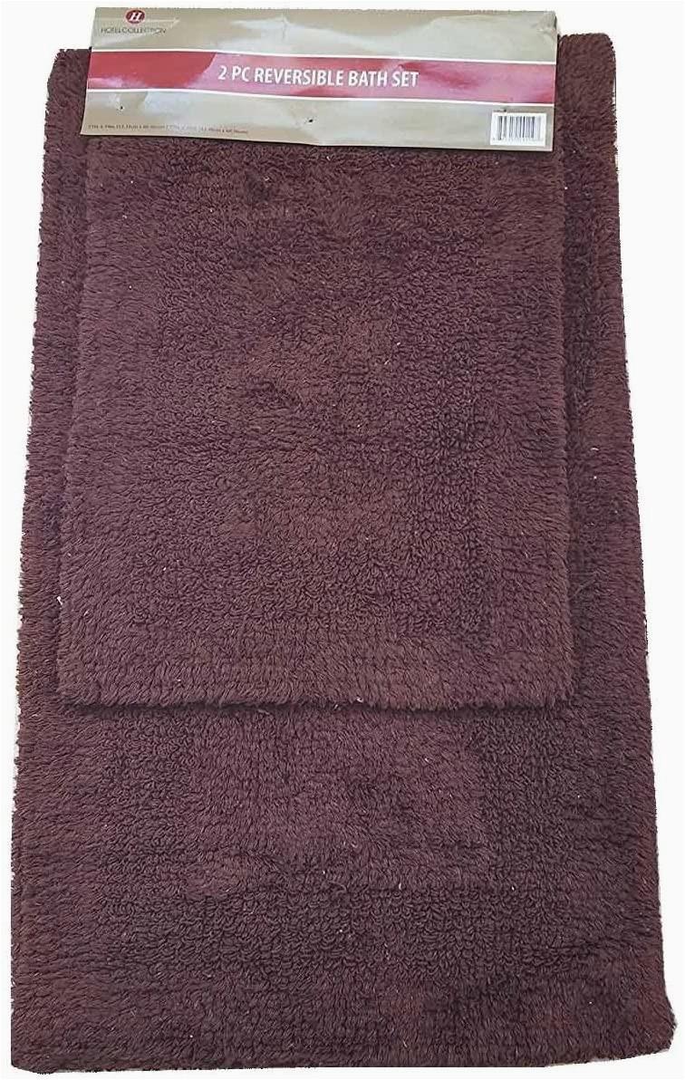 Reversible Bath Rugs Sale Amazon Hotel Collection 2pc Reversible Bath Rug Set