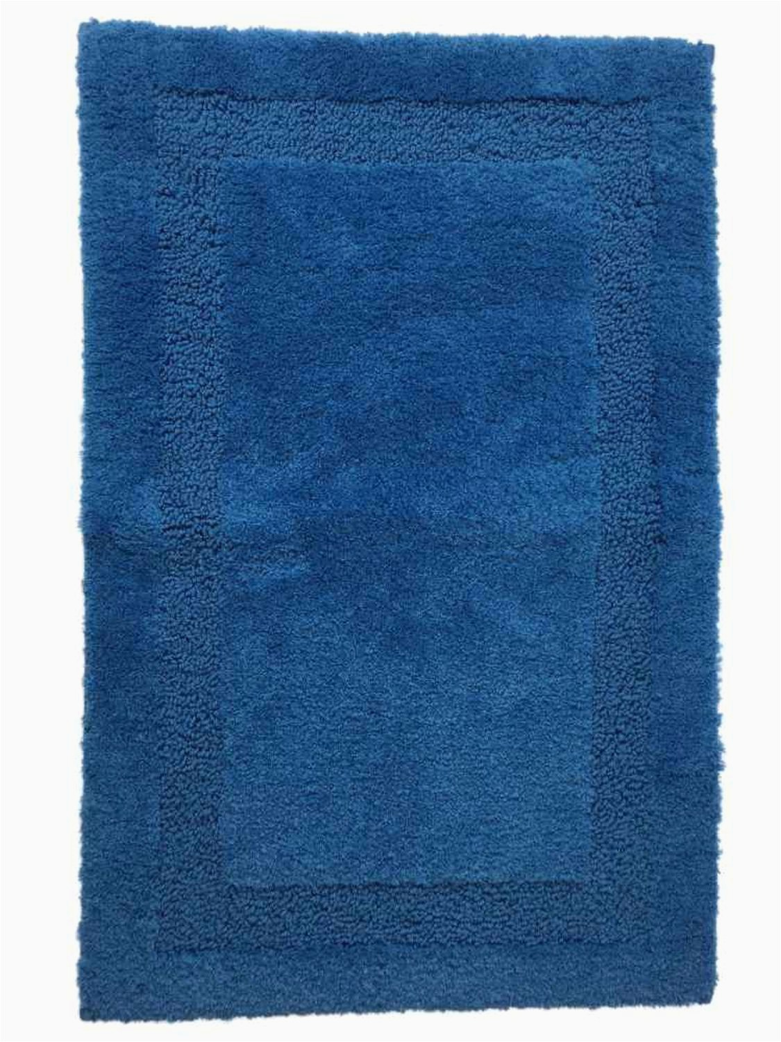 Riviera Home Retro Bath Rug Chaps Richmond Riviera Blue Plush Pile Throw Rug 25×40 Skid Resistant Bath Mat Walmart