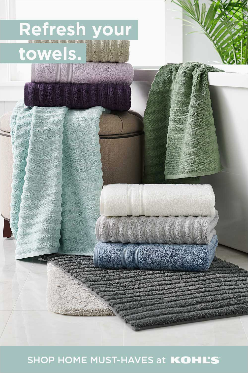 Sonoma Bath Rugs at Kohls Find Bath towels Bath Rugs at Kohl S In 2020