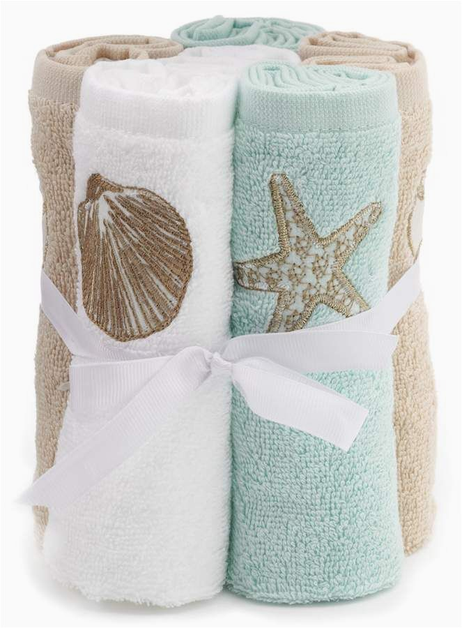 Sonoma Bath Rugs at Kohls sonoma Goods for Life Shoreline 6 Pk Washcloths
