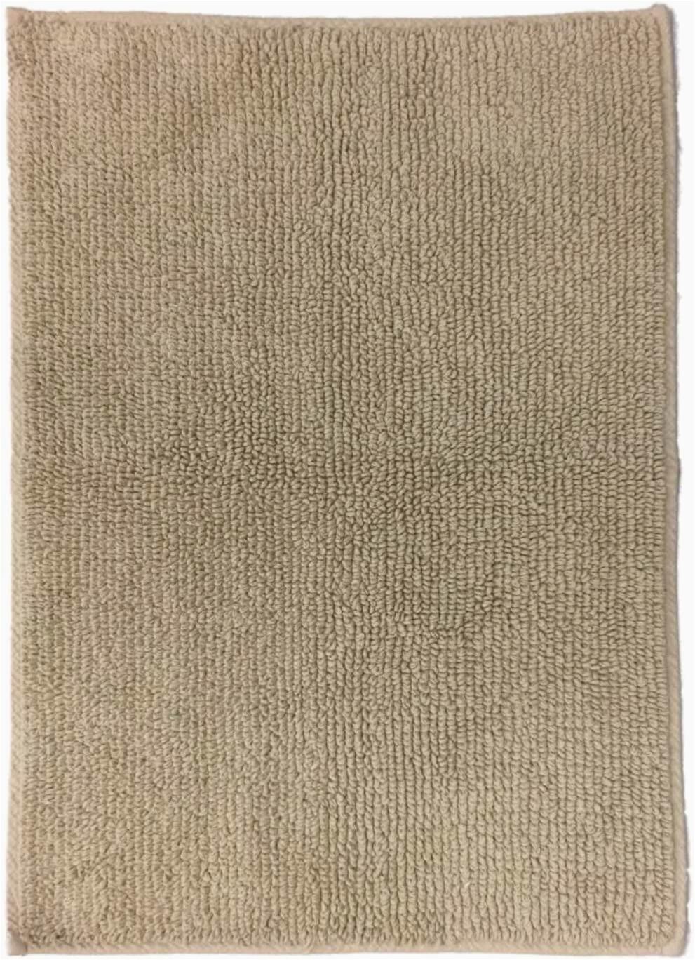 Sonoma Cotton Bath Rugs Amazon Reversible solid Tan Plush Pile Throw Rug 20×32