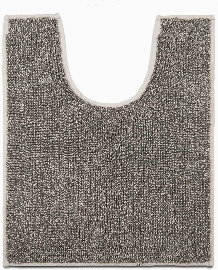 sonoma goods for life charcoal infused contour bath rug