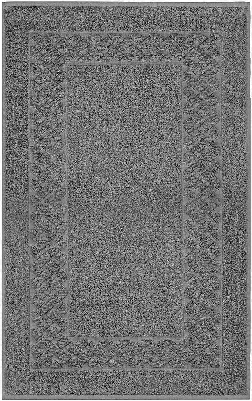 Terry Cloth Bath Rugs Lashuma Bath Mat Bath Mat Shower Mat Cotton Terry towel Royal 50 X 80 Cm Cotton Slate Grey