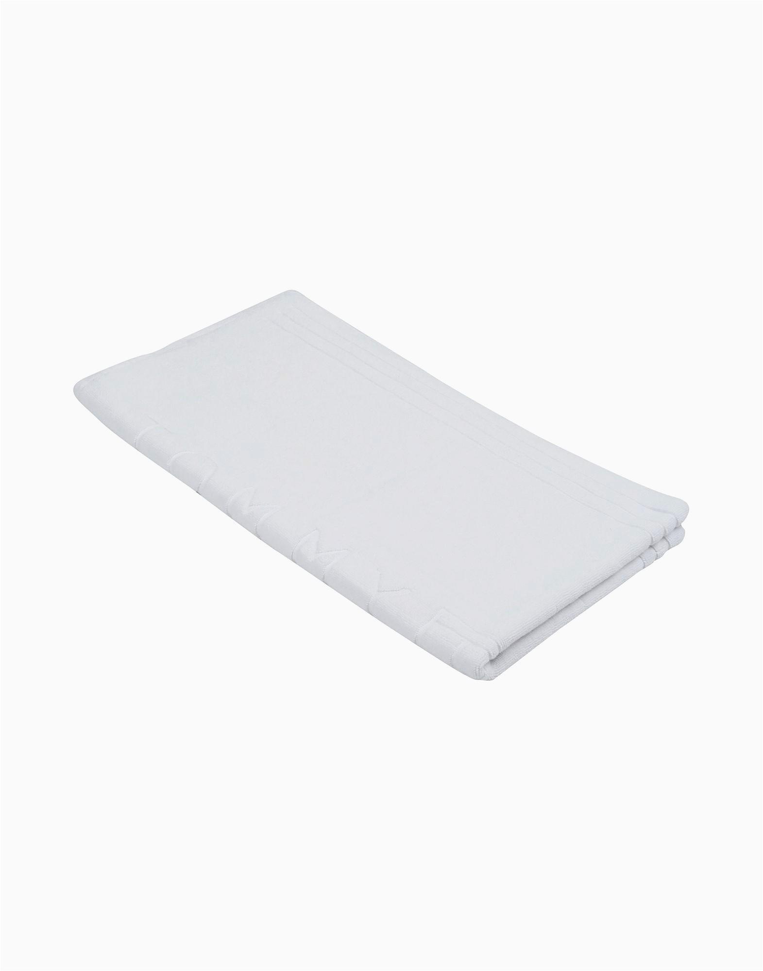 Tommy Hilfiger White Bath Rug tommy Hilfiger Mat Legend Bathroom Textiles Design Art