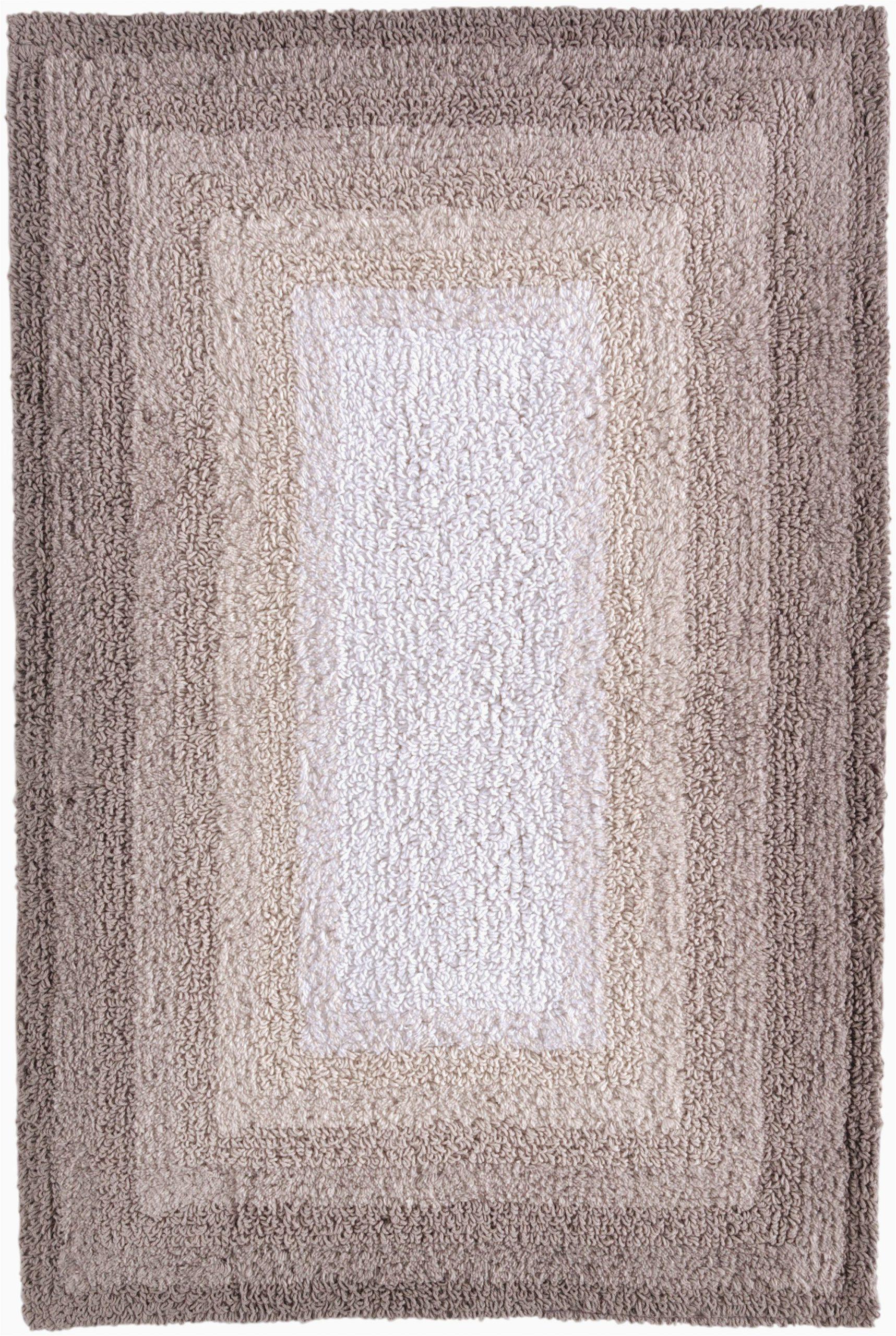 "Ultra Thin Bath Rug Better Homes & Gardens Ombre Cotton Reversible Bath Mat Grey Shadow 20"" X 30"""