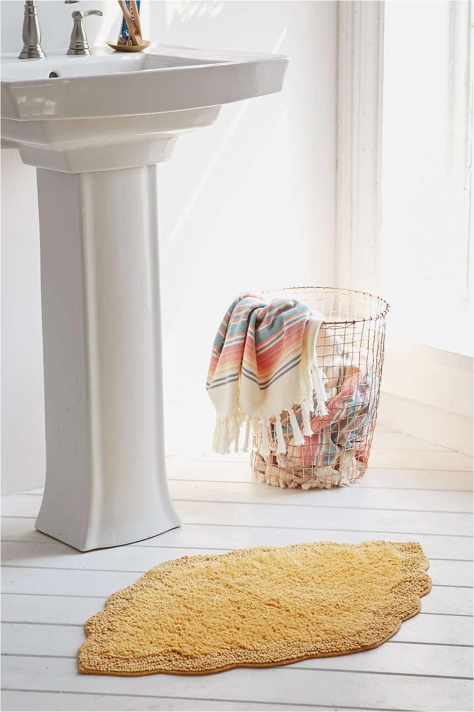Yellow Lotti Shaped Bath Math