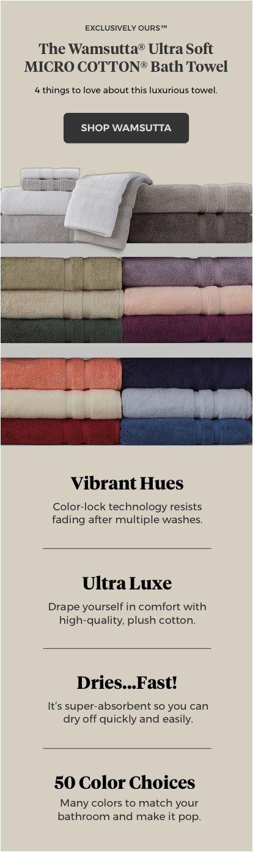 Wamsutta Bath Rug Colors today S Hot Buy 👏 Wamsutta Ultra soft Micro Cotton Bath