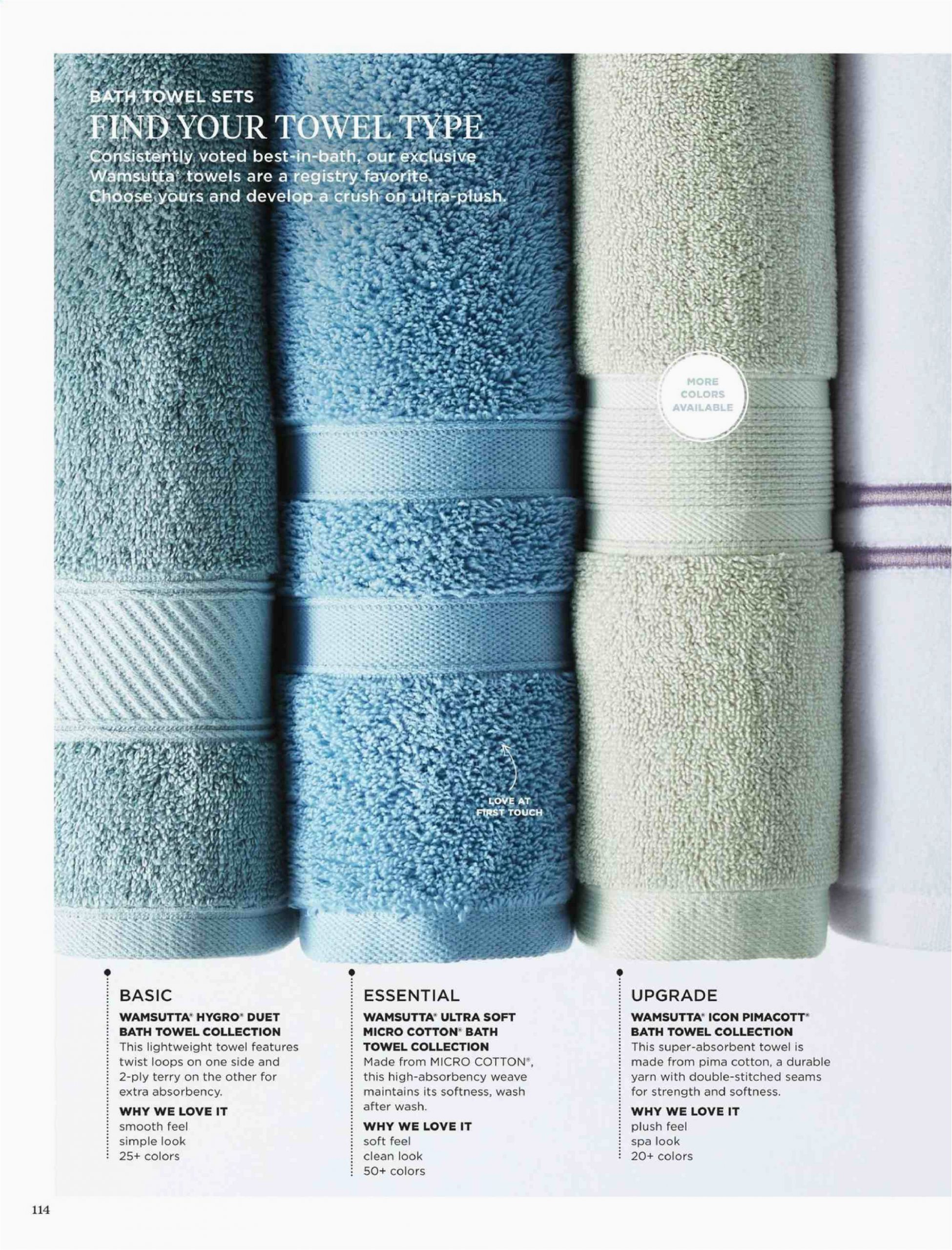 Wamsutta Perfect soft Micro Cotton Bath Rug Bed Bath & Beyond Flyer 12 17 2019 12 31 2020 Page 114
