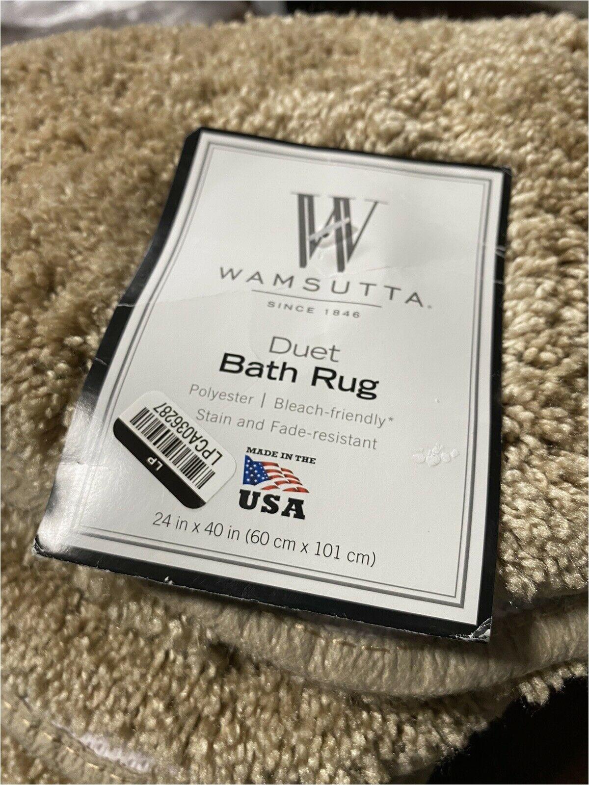 Wamsutta Reversible Cotton Bath Rugs Wamsutta Duet 24 Inch X 40 Inch Bath Rug In Sand