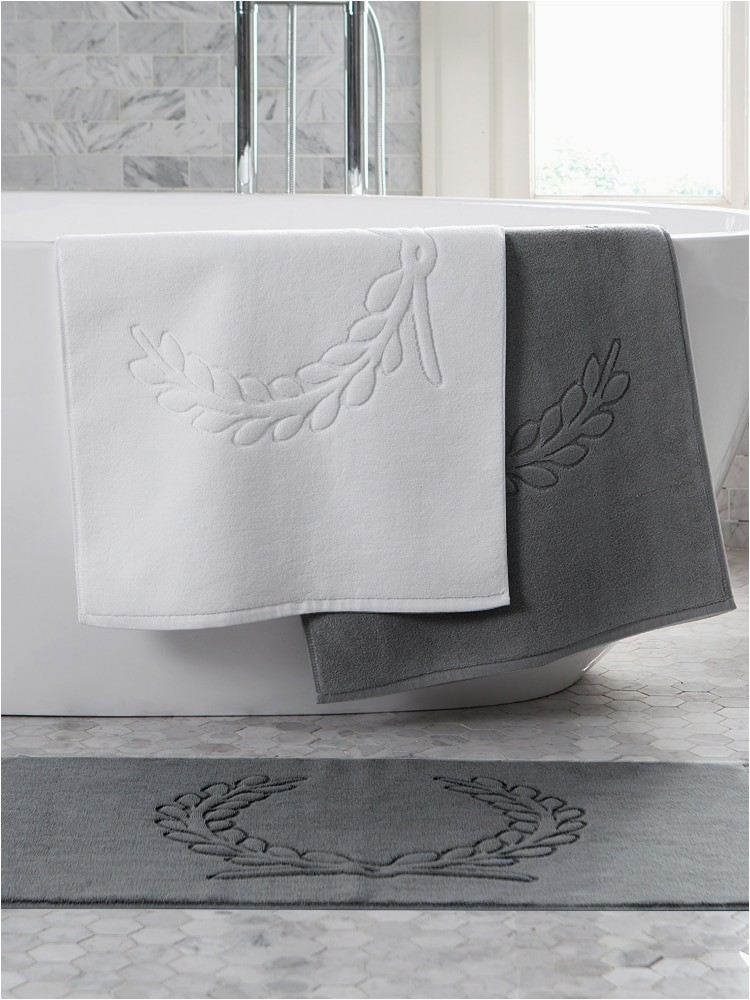 White Bath Rugs Cotton Us $17 55 Off Cotton Bath Mat Floor towel White Gray Bathroom Carpets Absorbent toilet Rug Home Hotel Shower Room Feet towels Tub Mats Tapis Bath