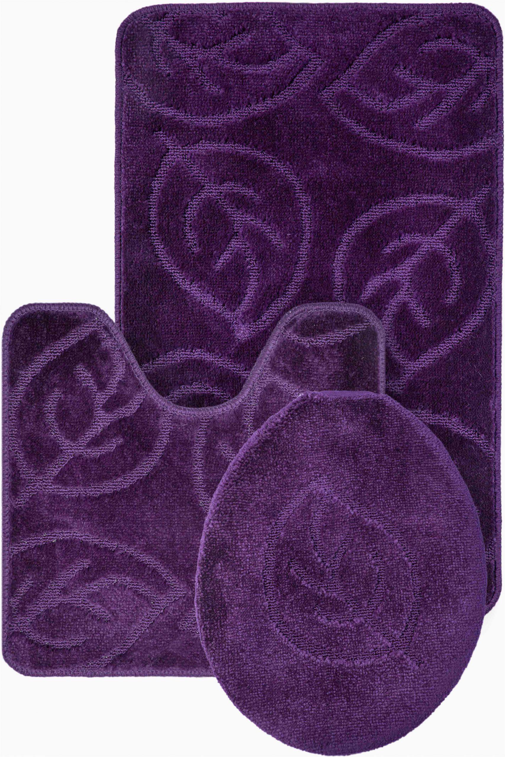African Bathroom Rug Set Purple Bathroom Rug Set Image Of Bathroom and Closet