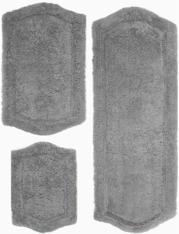 joni rectangle non slip piece bath rug set