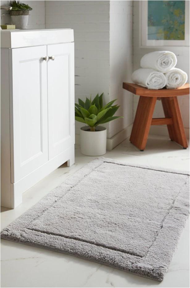best bath rug materials