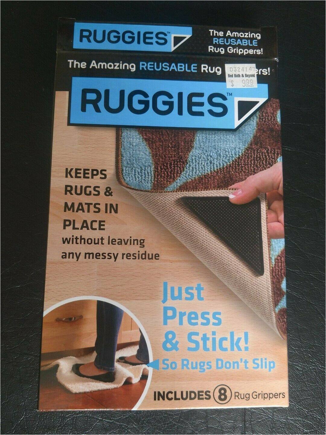 Bed Bath and Beyond Rug Gripper Rug Grip Pro Reusable Rug Gripper Set Of 8 Ruggies Carpet