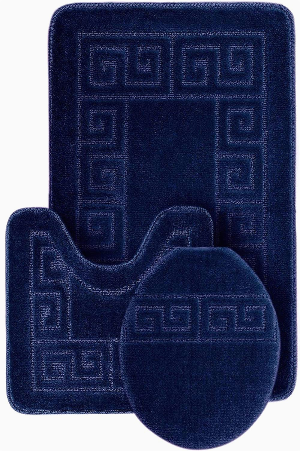 "Best Contour Bath Rugs Buy 3 Piece Bath Rug Set Pattern Bathroom Rug 20""x32"