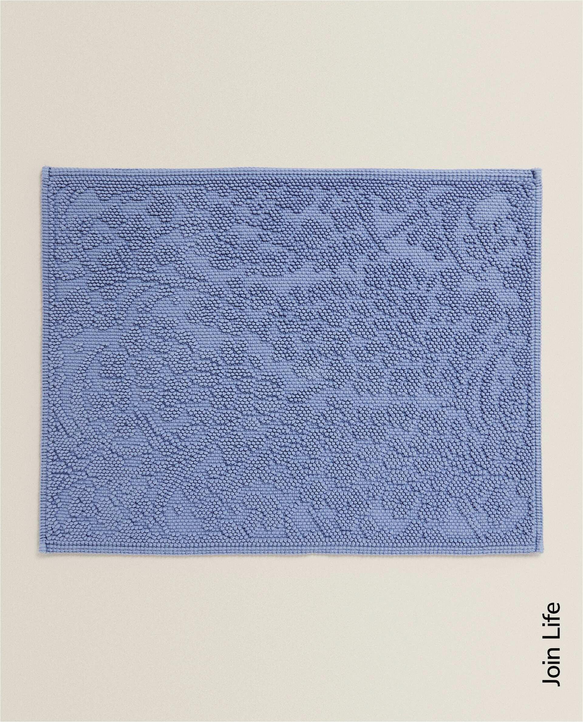 floral bath mat c p