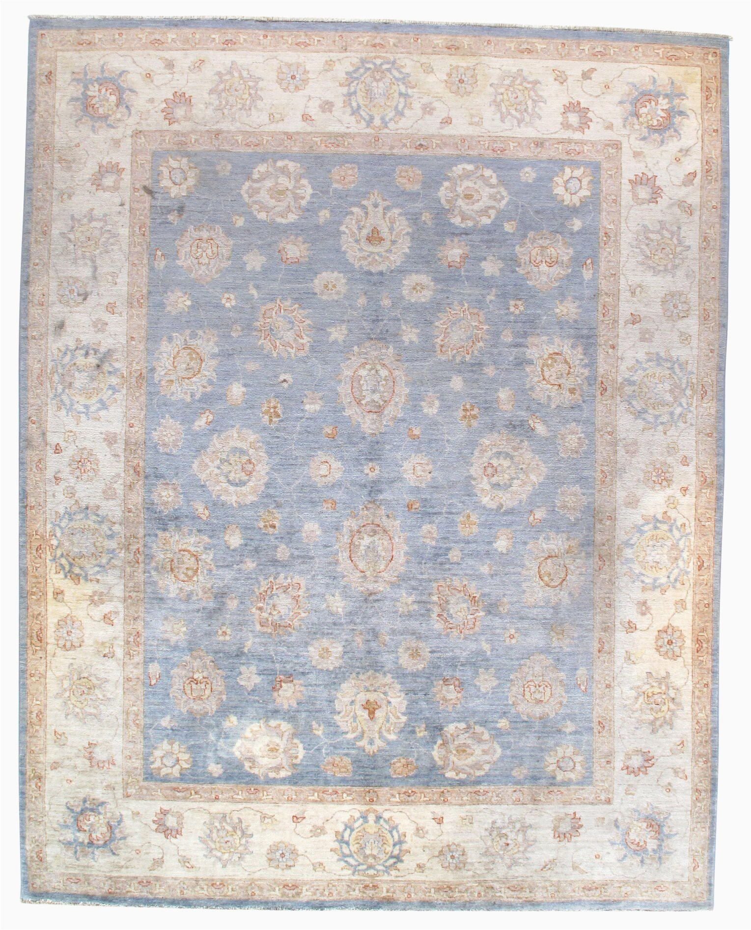 cedrick hand knotted wool bluebrown area rug