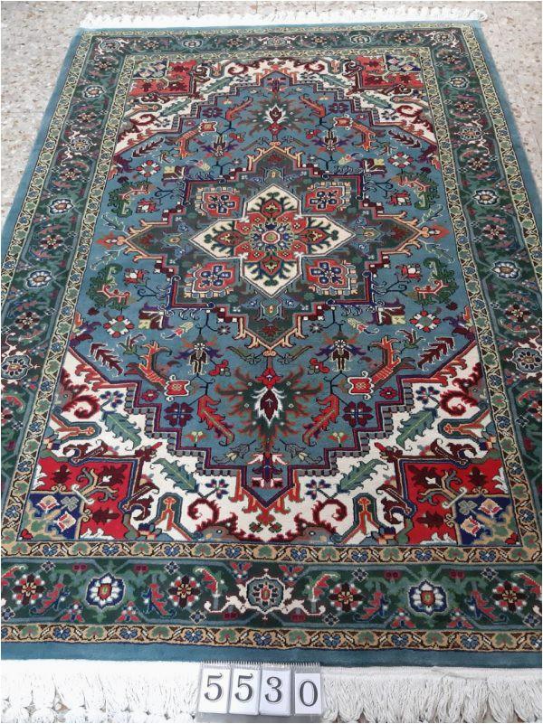 Blue persian rug 5530 600x801