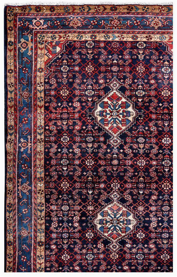 dark blue malayer rug 5x10 feet persian rug dr445