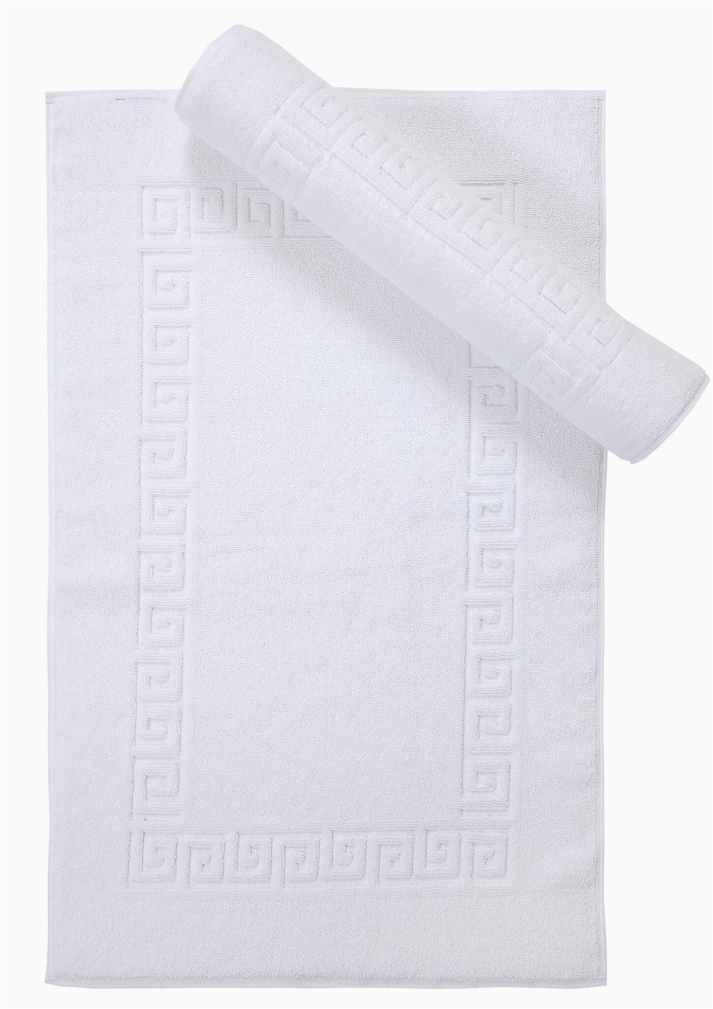 mercer41 plante luxury greek key bath rug w