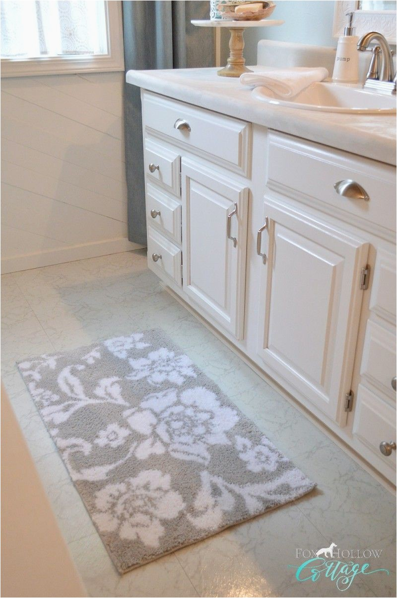 Home and Garden Bath Rugs Better Homes and Garden Live Better at Walmart Grey & White