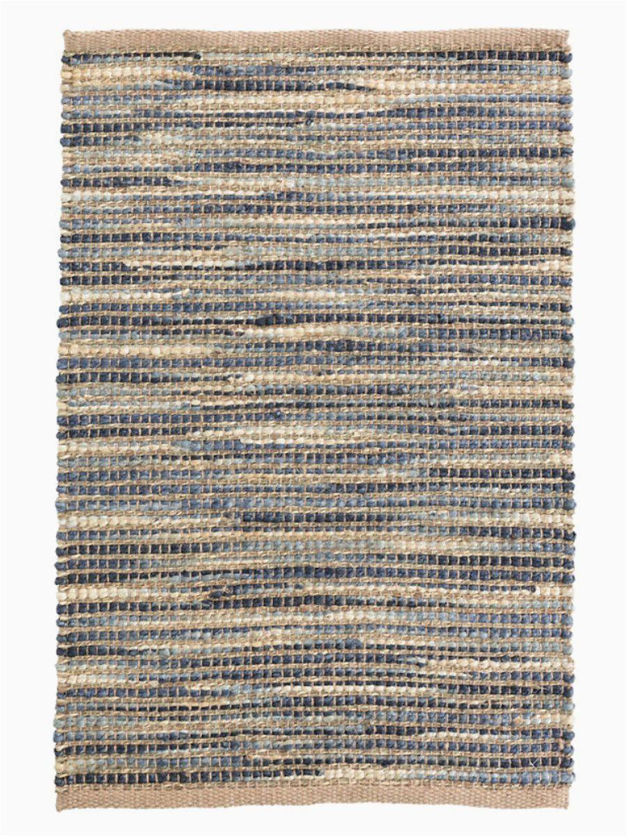 tenali blue woven jute rug