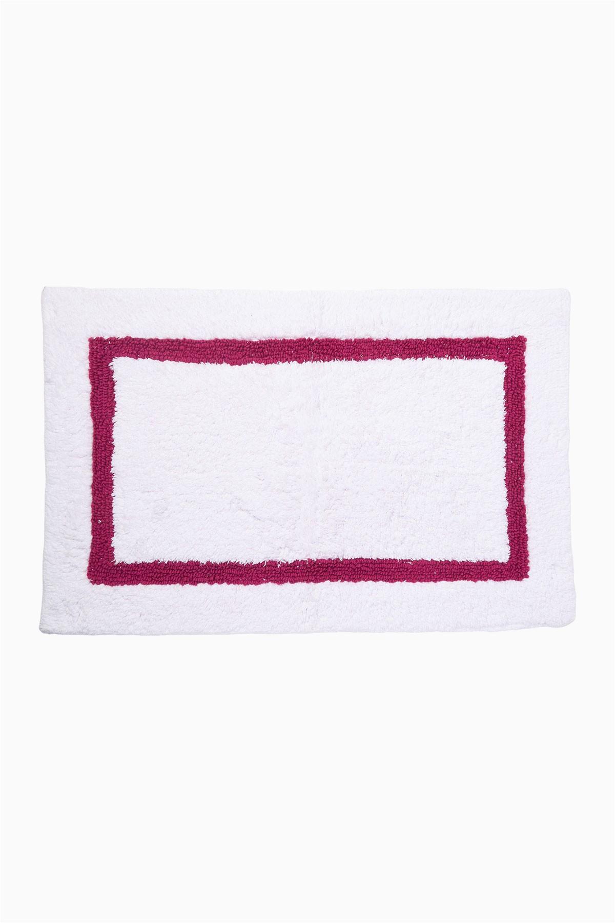 kate spade new york white pink dahlias bath rug 21 x 31