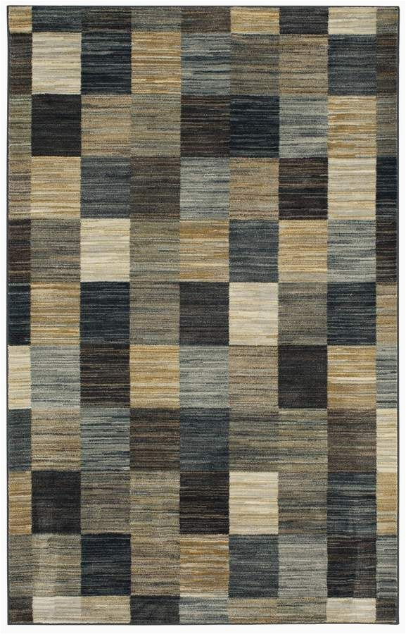 Mohawk Home Mercario Smoke Blue Geometric area Rug Mohawk Home Mercario Smoke Blue Geometric area Rug