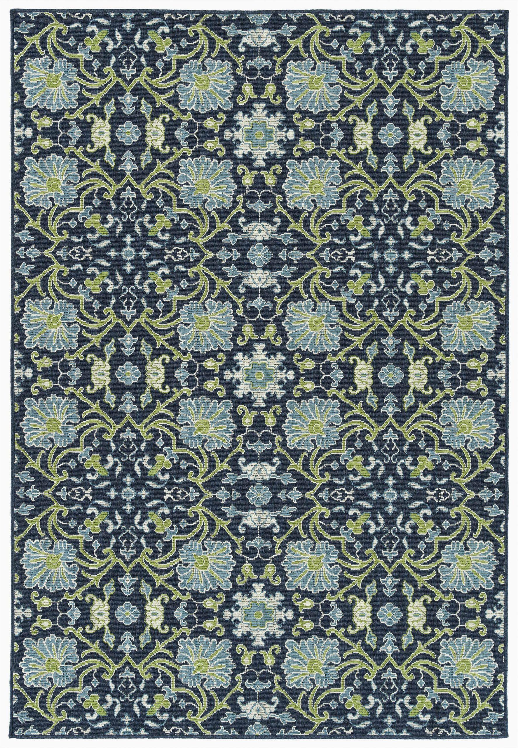 canora grey kirsty navy indooroutdoor area rug w piid=