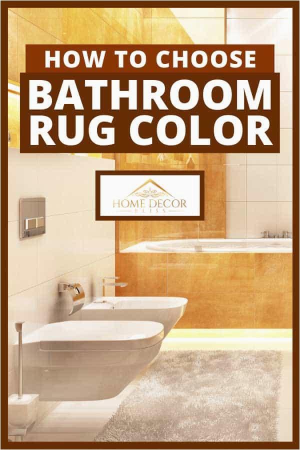 Modern bathroom interior design in large house with bathtub toilet and bathroom rug