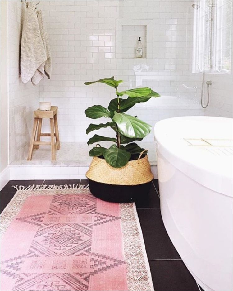Pink and White Bathroom Rugs Bathrooms Rugs Home Decor Designs Ideas